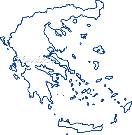 spotted map of Greece